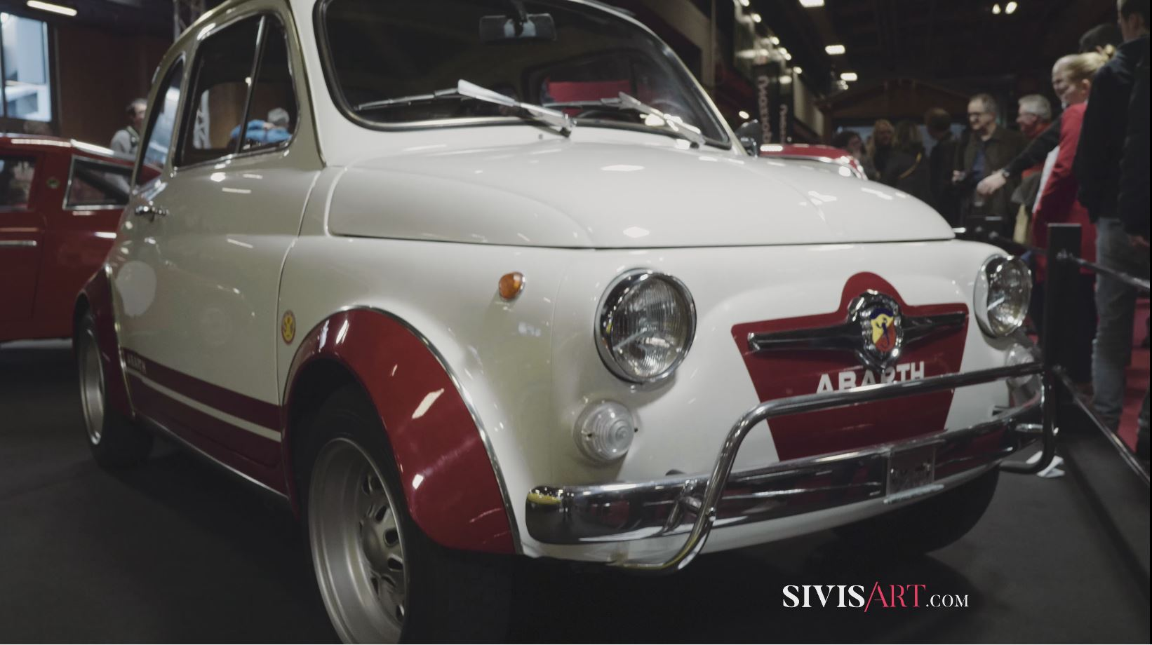 Sivis'art Videomaker presents RetroMobile-2018 – ABARTH – by Sivis'Art