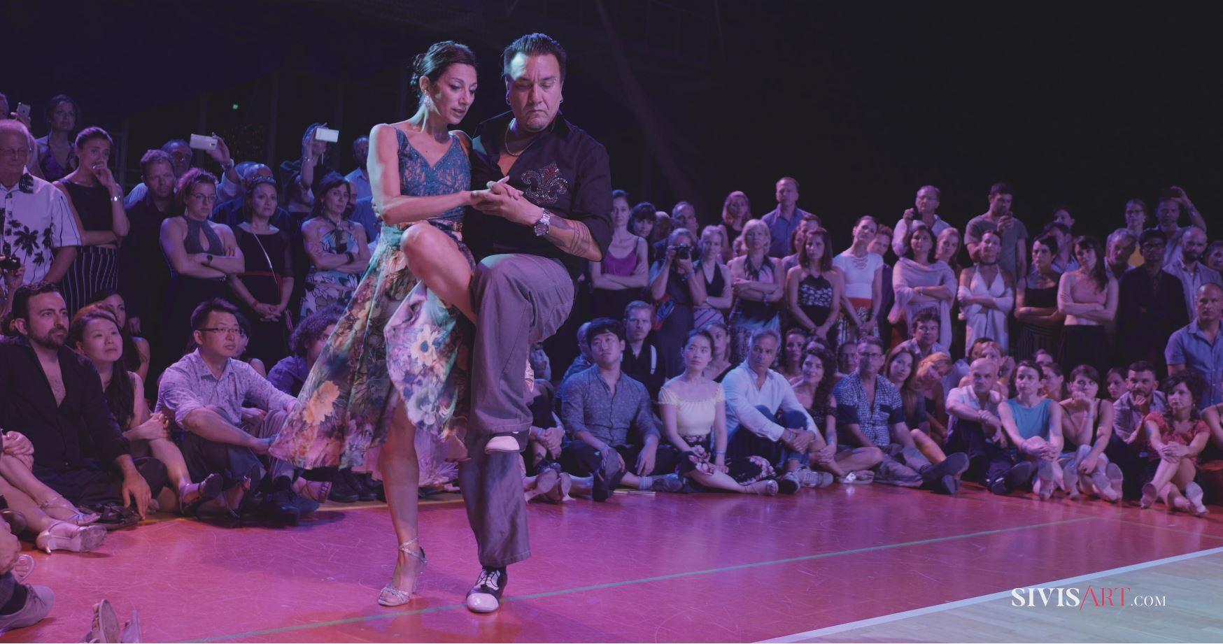 "Mariano ""Chicho"" Frumboli & Moira Castellano at Mediterranean Summer Tango Festival"