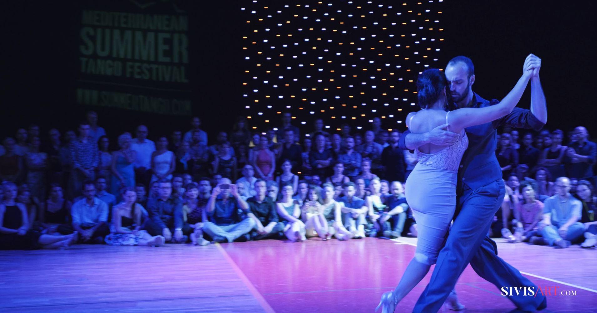 Pablo Rodriguez & Corina Herrera at Mediterranean Summer Tango Festival