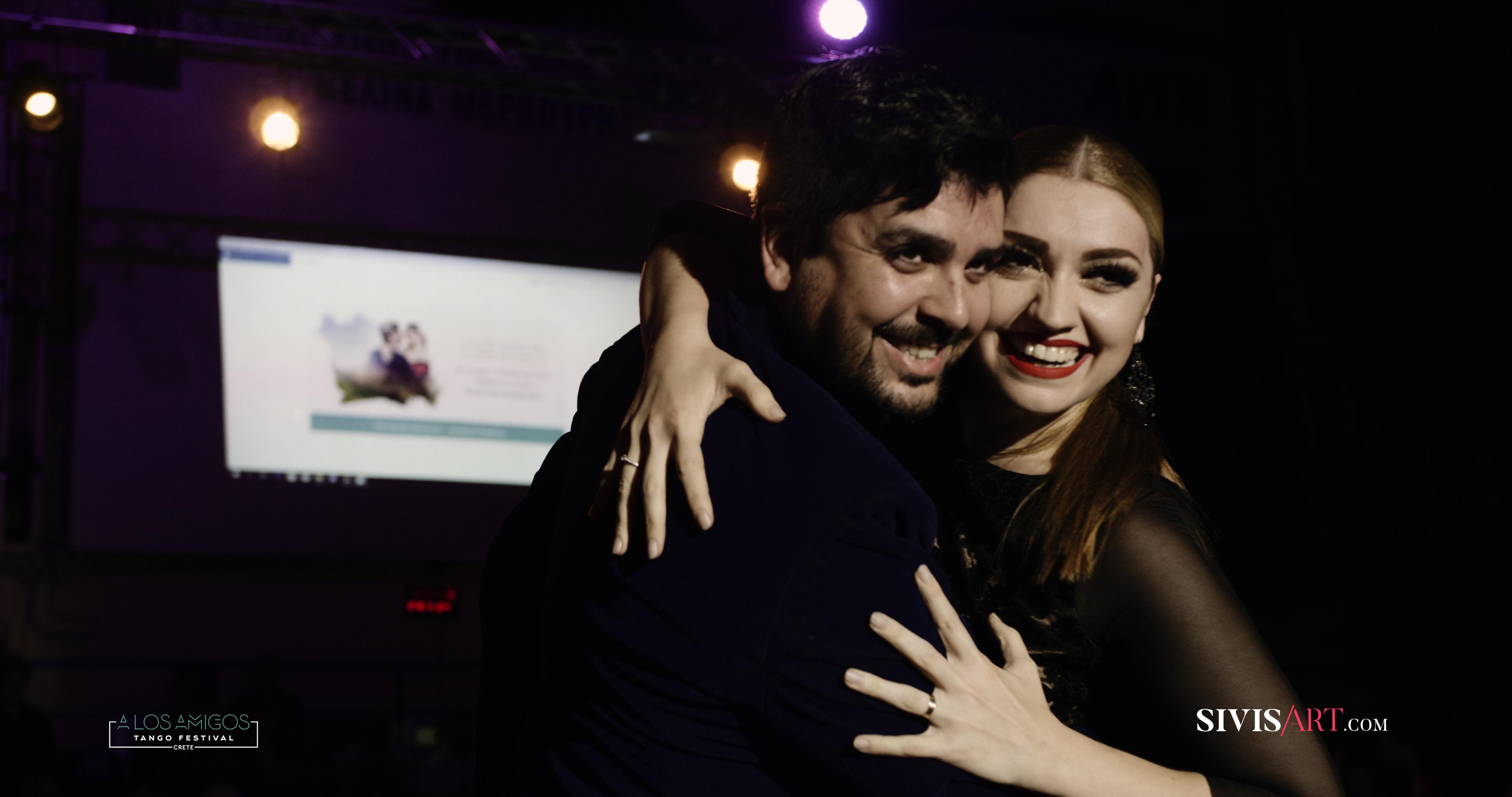Fernando Sanchez y Ariadna Naveira